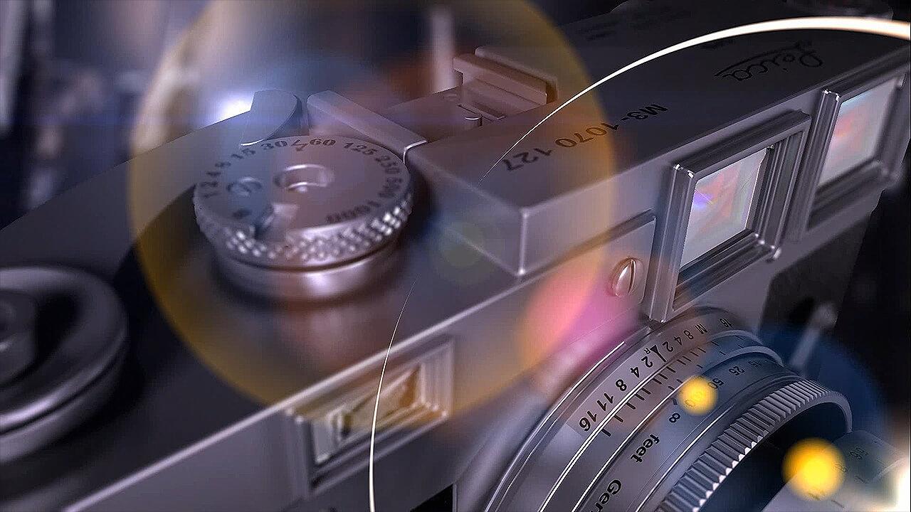 Animowana prezentacja aparatu Leica