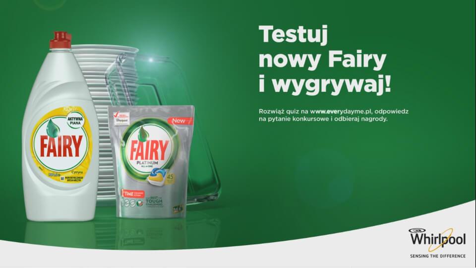 Animacja 3D spot reklamowy film Fairy
